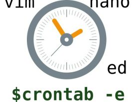 How to set or change default text editor for crontab in Linux?